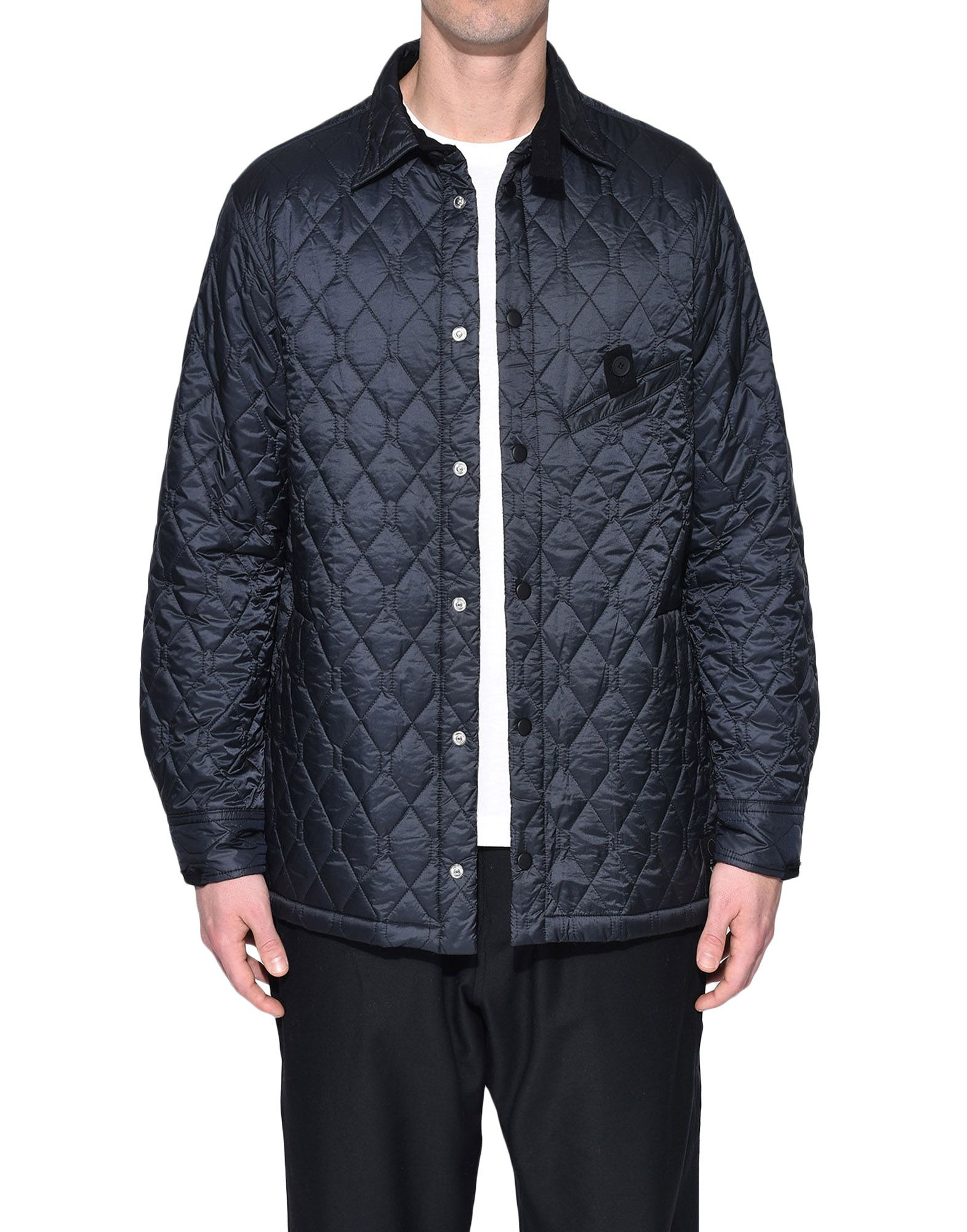 Y-3 Y-3 Quilted Shirt Long sleeve shirt Man r