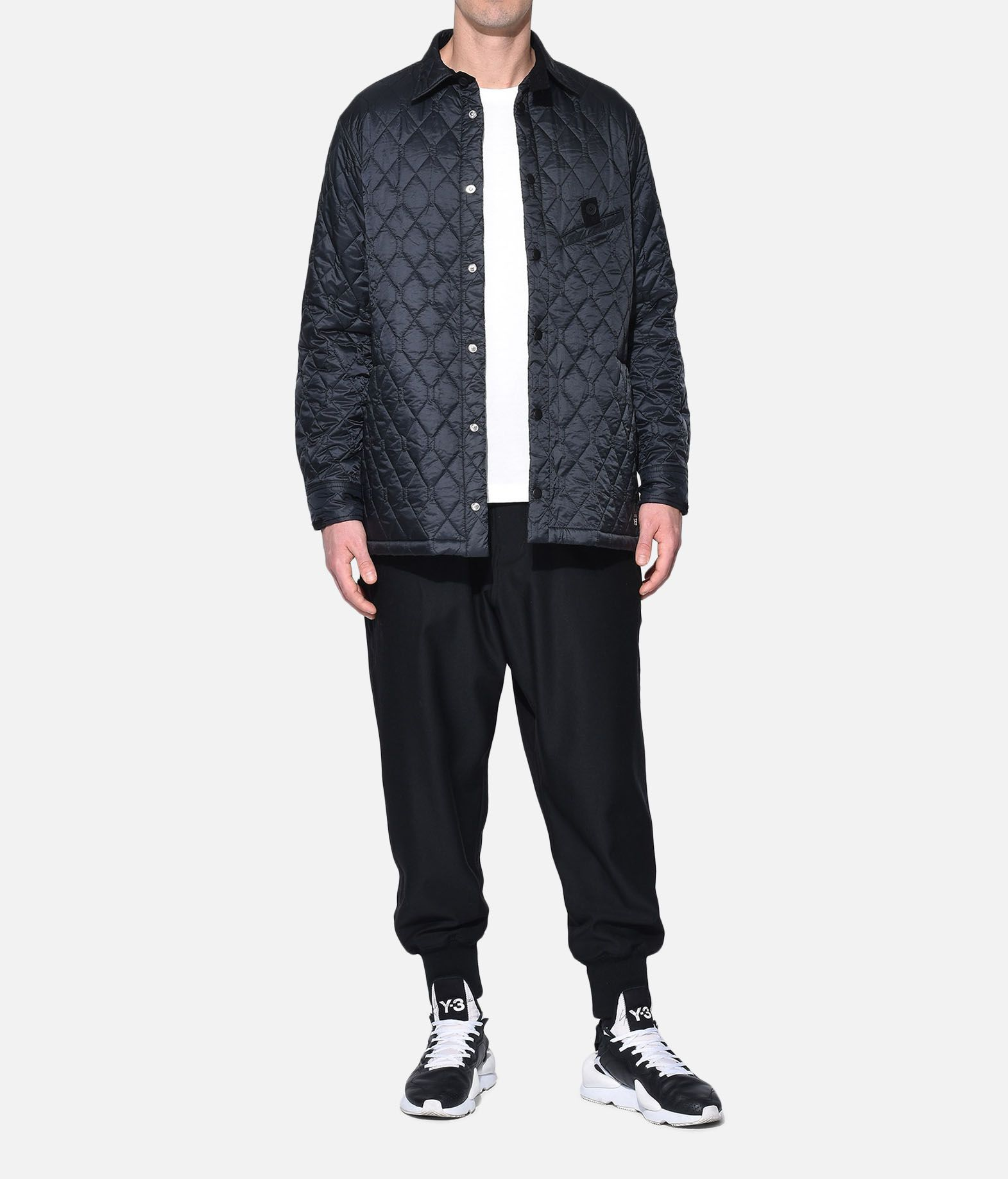 Y-3 Y-3 Quilted Shirt Long sleeve shirt Man a