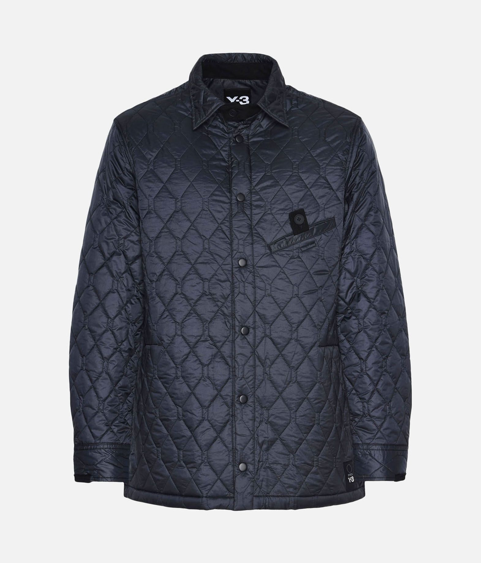 Y-3 Y-3 Quilted Shirt Long sleeve shirt Man f