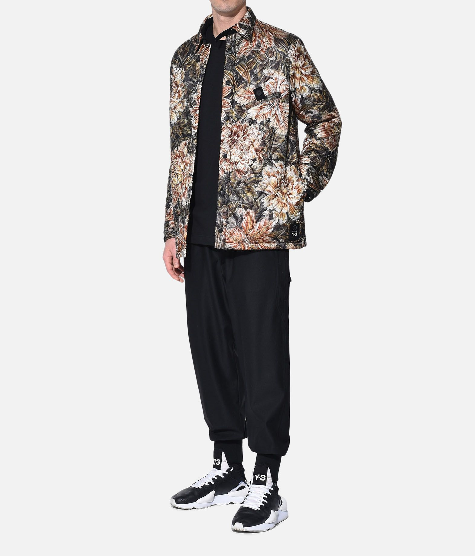 Y-3 Y-3 AOP Quilted Shirt Long sleeve shirt Man a