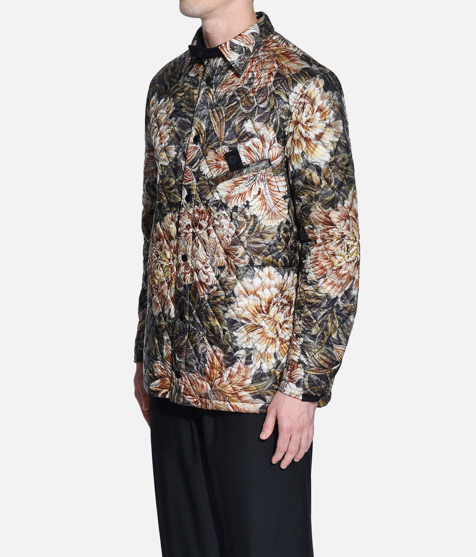 Y-3 Y-3 AOP Quilted Shirt Long sleeve shirt Man e
