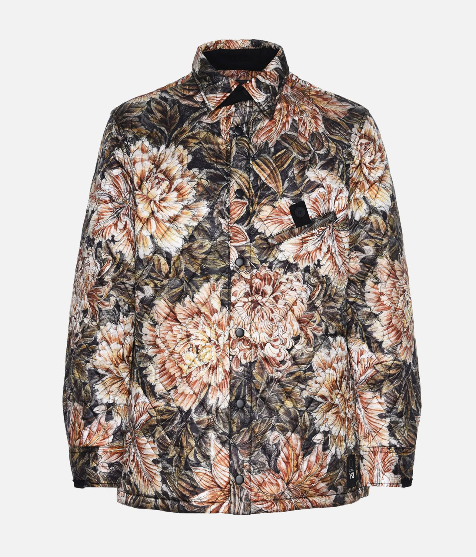 Y-3 Y-3 AOP Quilted Shirt Long sleeve shirt Man f
