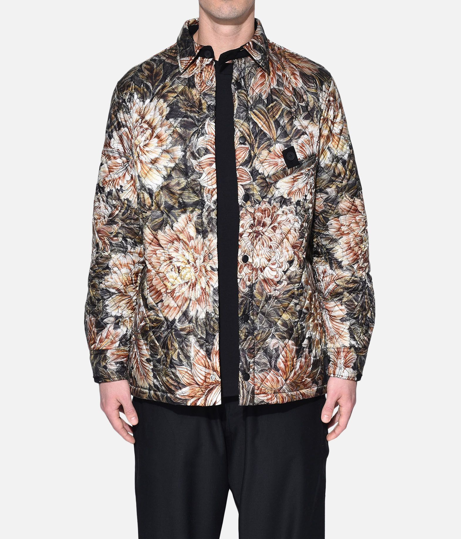 Y-3 Y-3 AOP Quilted Shirt Long sleeve shirt Man r