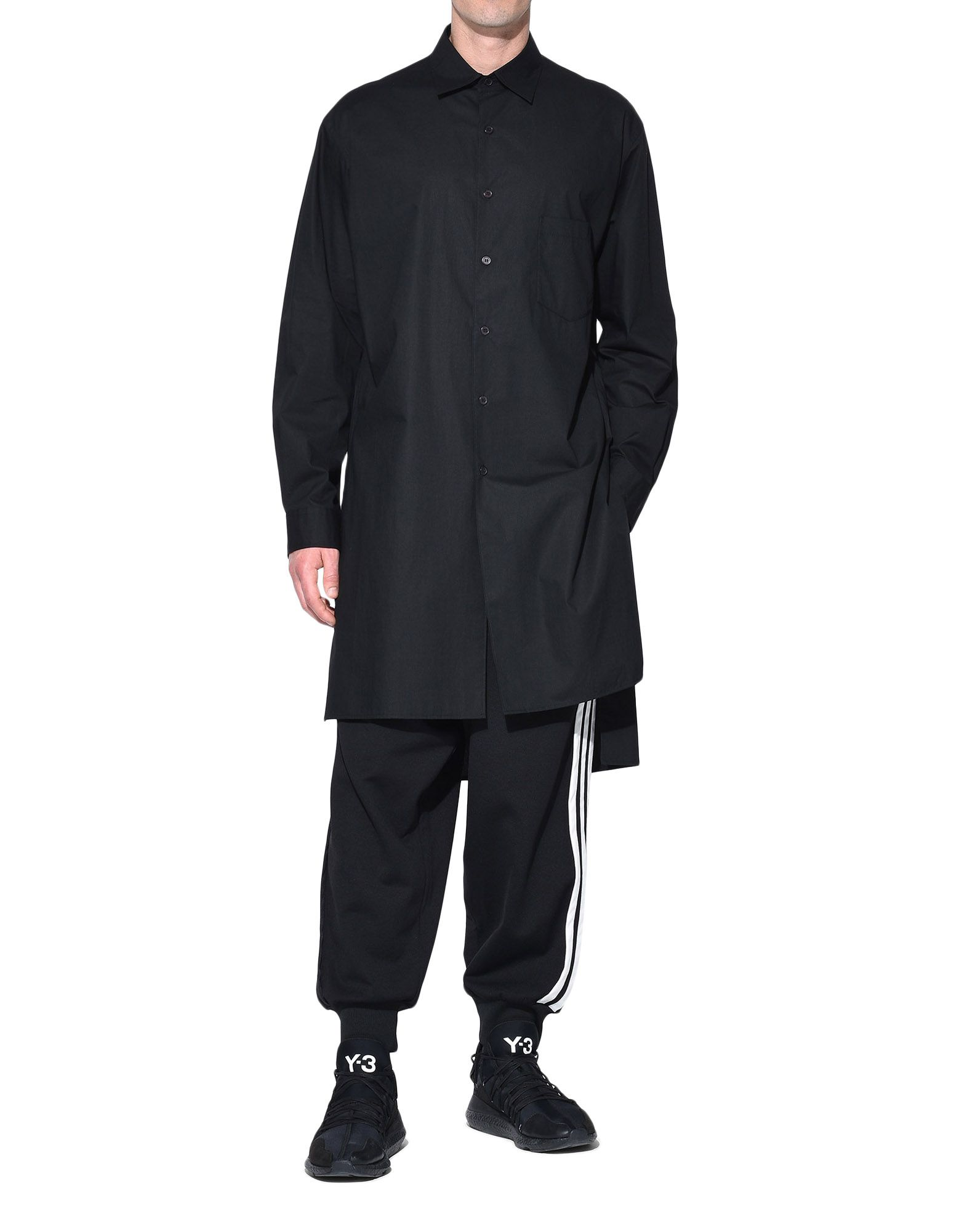 Y-3 Y-3 Stacked Logo Shirt Long sleeve shirt Man a