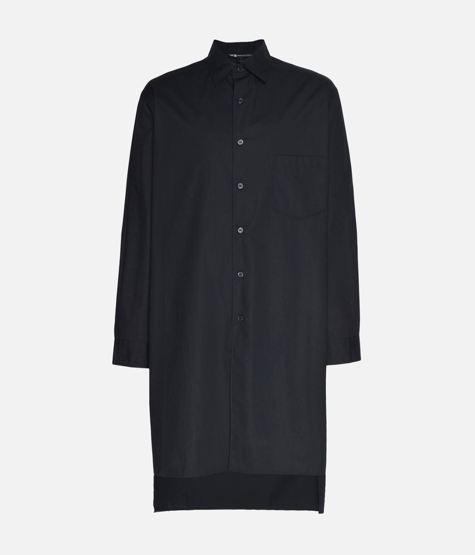 Y-3 Y-3 Stacked Logo Shirt Long sleeve shirt Man f