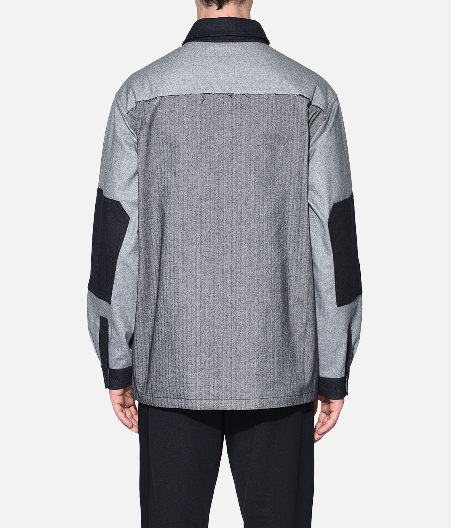 Y-3 Y-3 Herringbone Overshirt Long sleeve shirt Man d