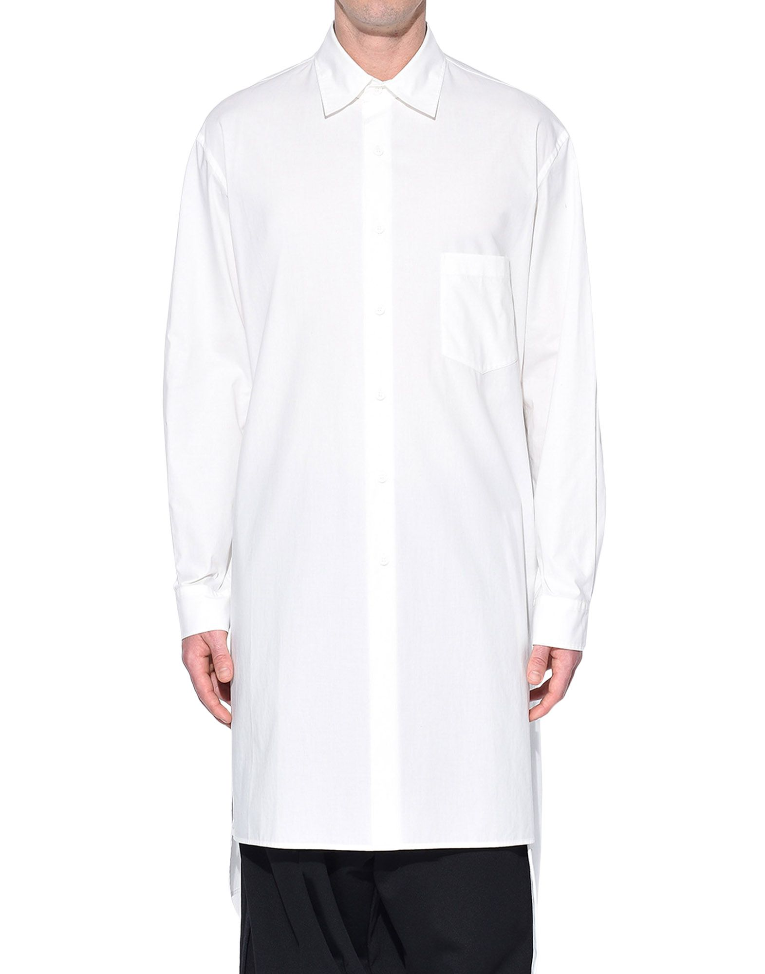 Y-3 Y-3 Stacked Logo Shirt Long sleeve shirt Man r
