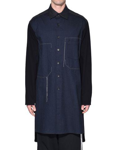 Y-3 Camicia maniche lunghe Uomo Y-3 Herringbone Long Shirt r