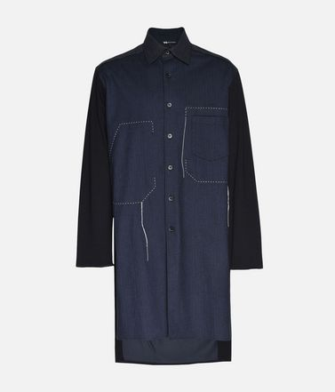 Y-3 Herringbone Long Shirt