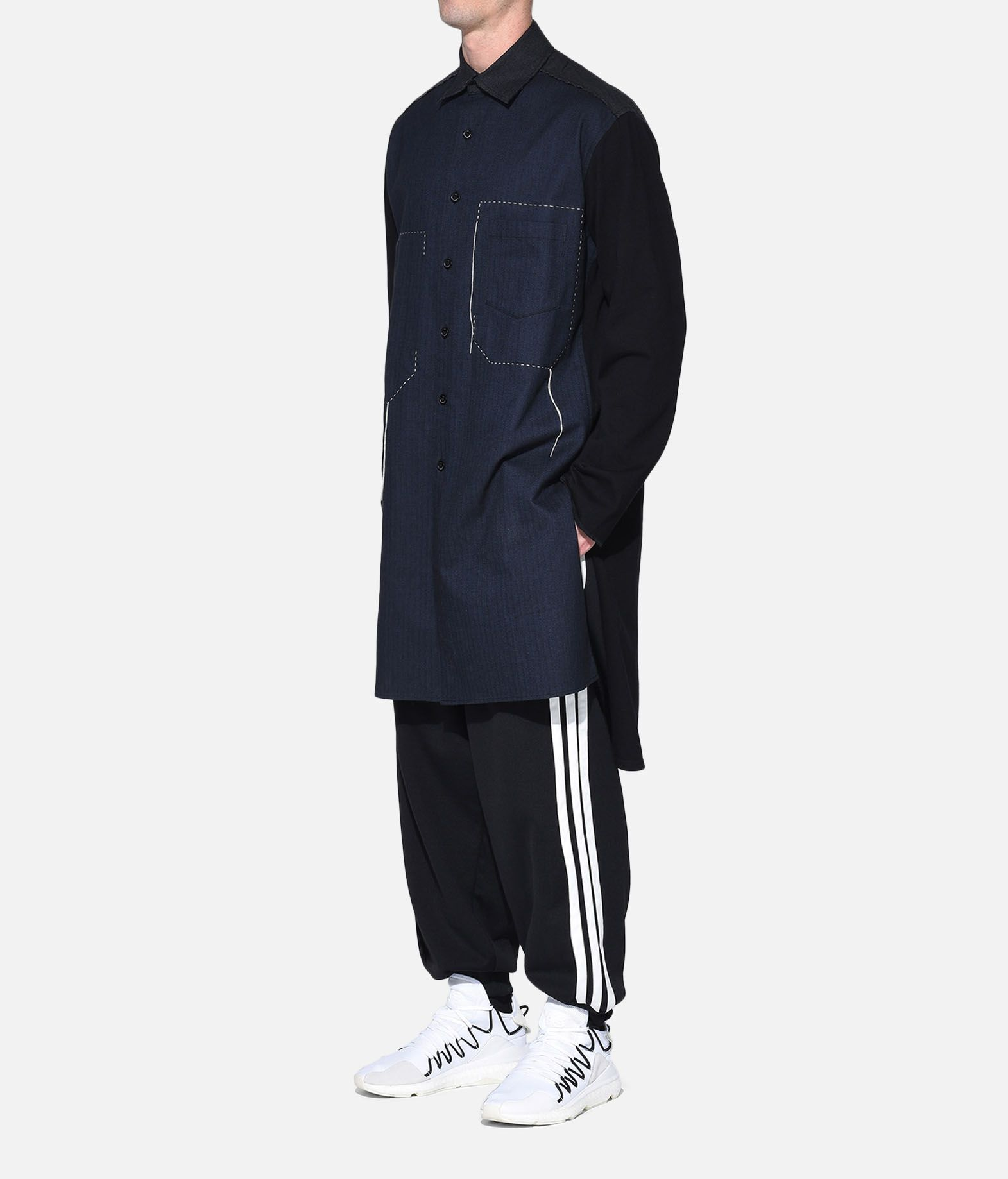 Y-3 Y-3 Herringbone Long Shirt Long sleeve shirt Man a