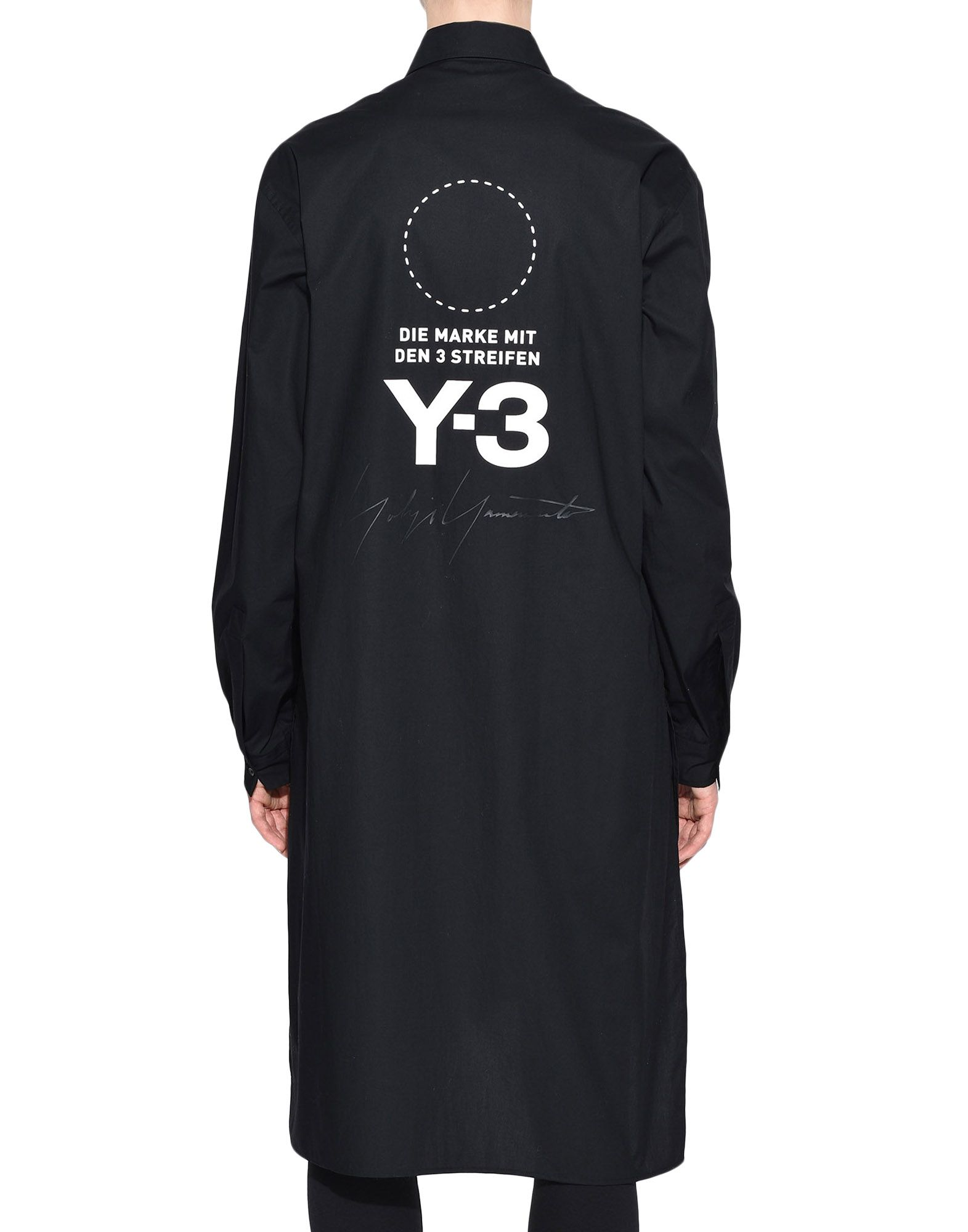 Y-3 Y-3 Stacked Logo Shirt Long sleeve shirt Woman d