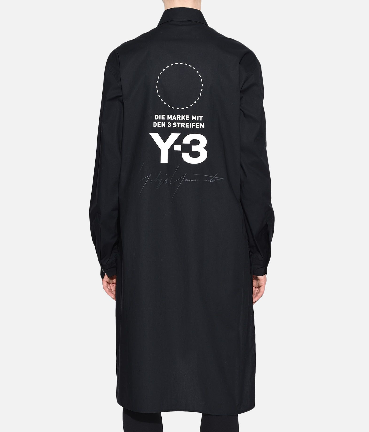 Y-3 Y-3 Stacked Logo Shirt Long sleeve shirt Woman d