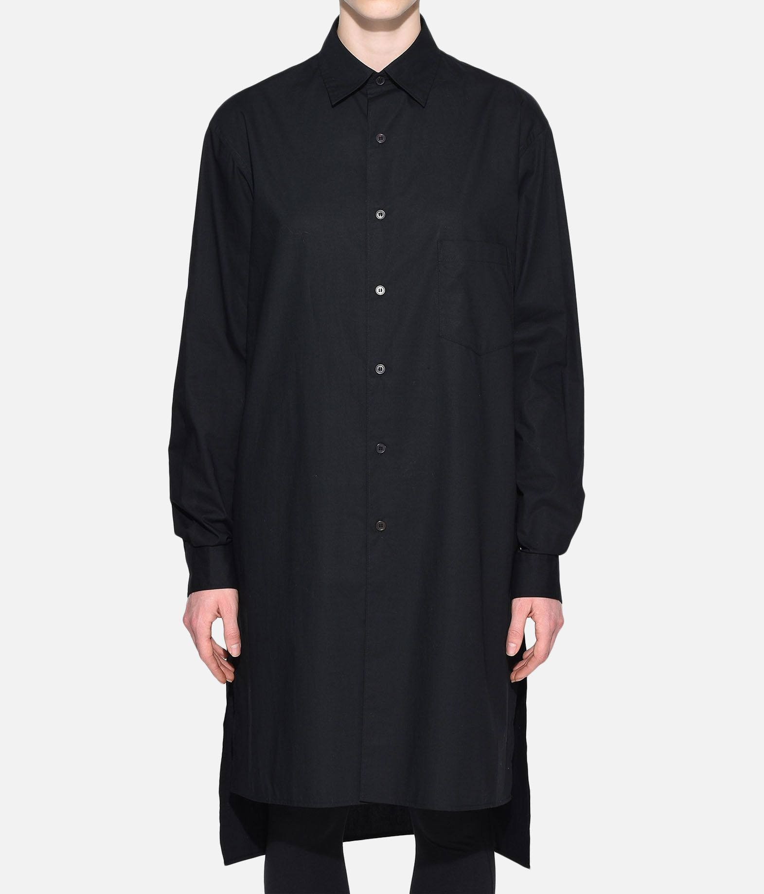 Y-3 Y-3 Stacked Logo Shirt Long sleeve shirt Woman r