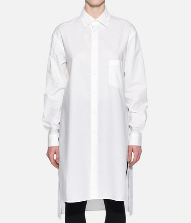 Y-3 Long sleeve shirt Woman Y-3 Stacked Logo Shirt r