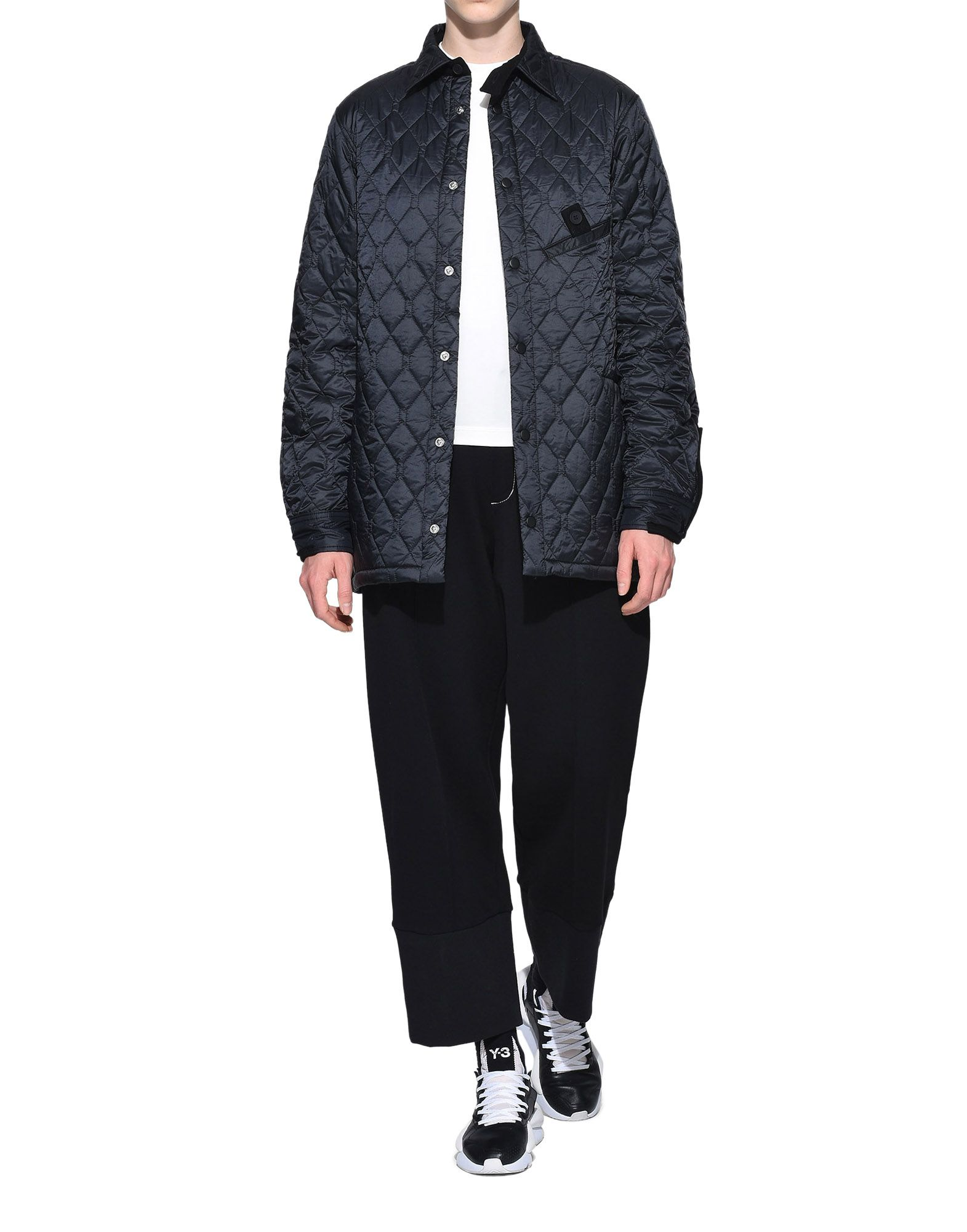 Y-3 Y-3 Quilted Shirt Long sleeve shirt Woman a