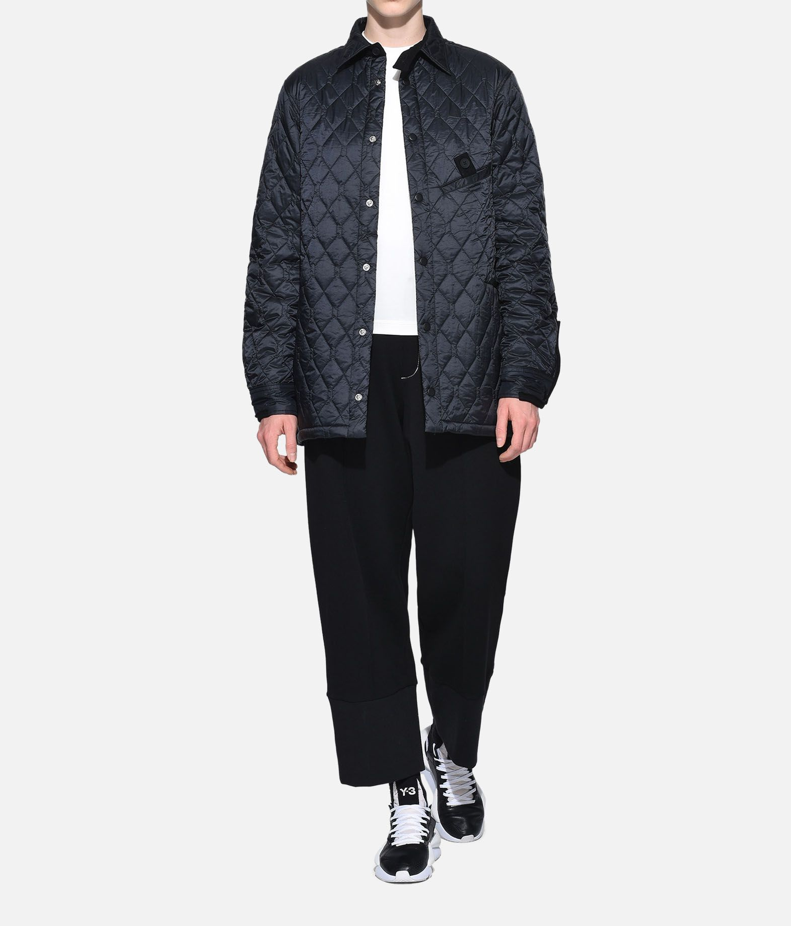 Y-3 Y-3 Quilted Shirt Camicia maniche lunghe Donna a
