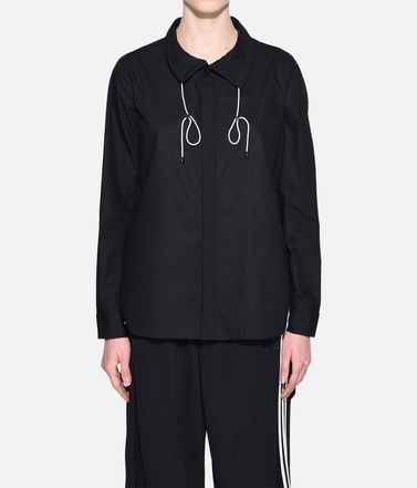 Y-3 Long sleeve shirt Woman Y-3 Tie-Cord Shirt r