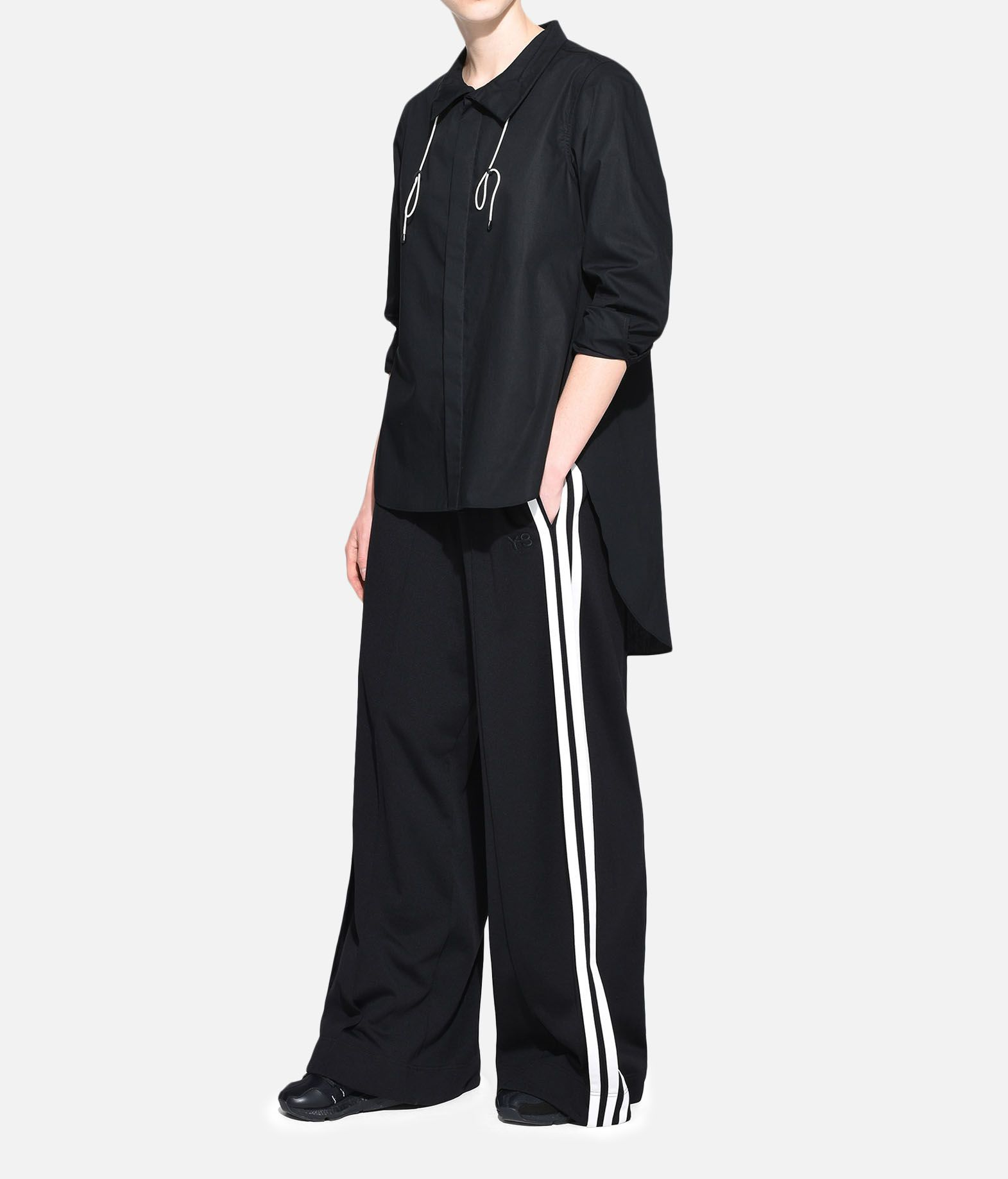 Y-3 Y-3 Tie-Cord Shirt Long sleeve shirt Woman a