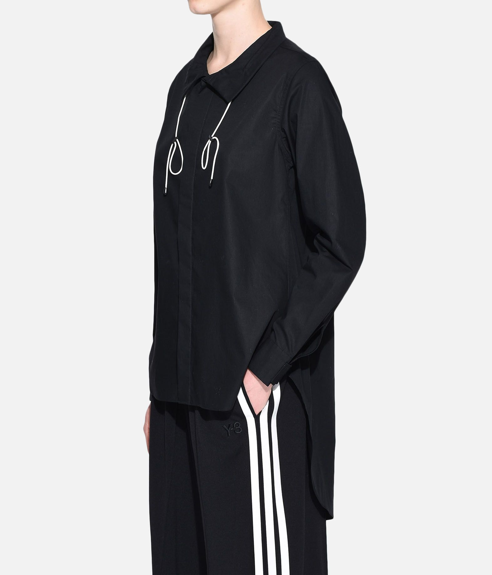 Y-3 Y-3 Tie-Cord Shirt Long sleeve shirt Woman e
