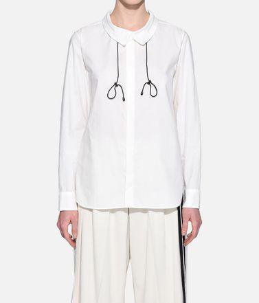 Y-3 Camicia maniche lunghe Donna Y-3 Tie-Cord Shirt r