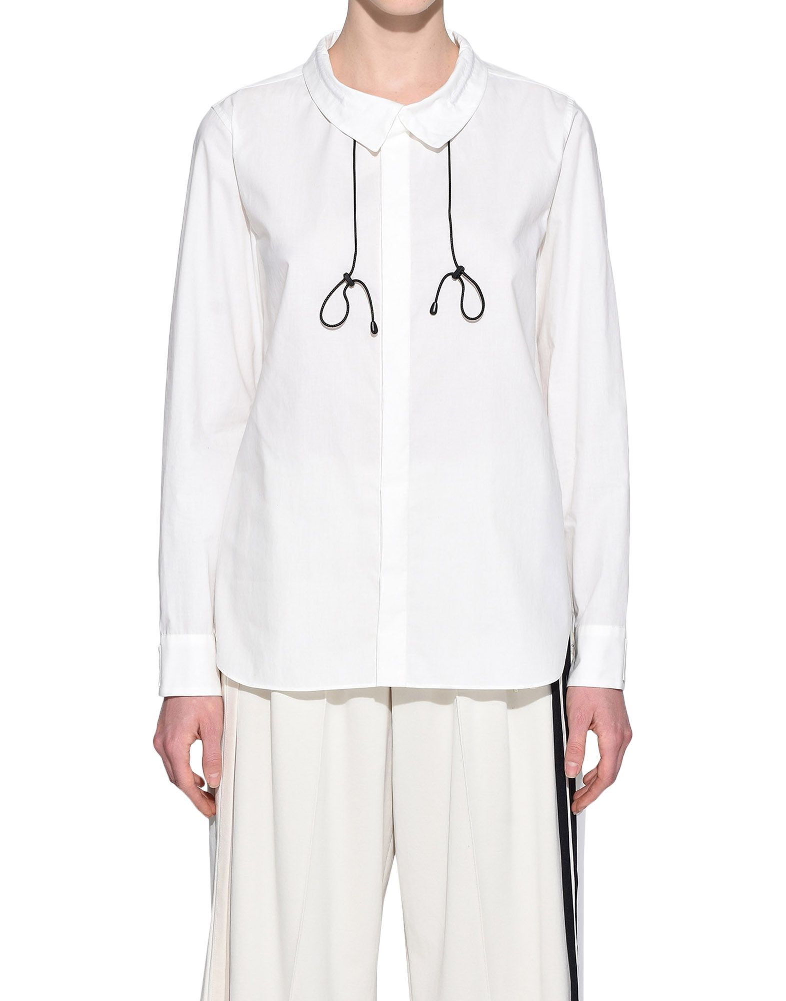 Y-3 Y-3 Tie-Cord Shirt Long sleeve shirt Woman r