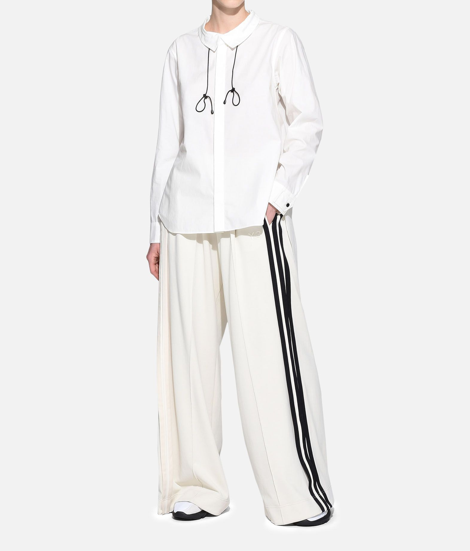 Y-3 Y-3 Tie-Cord Shirt Рубашка с длинными рукавами Для Женщин a