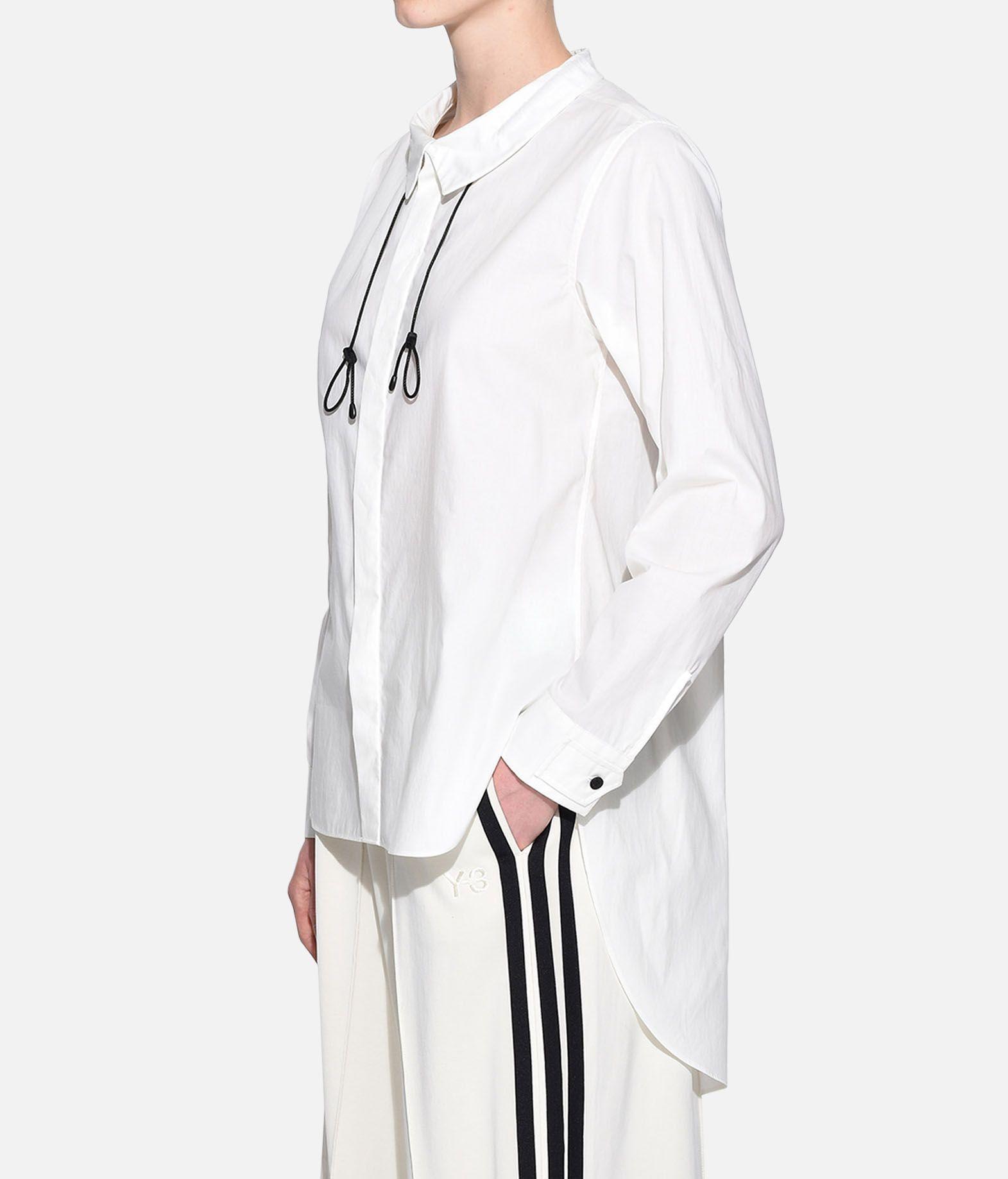 Y-3 Y-3 Tie-Cord Shirt Рубашка с длинными рукавами Для Женщин e