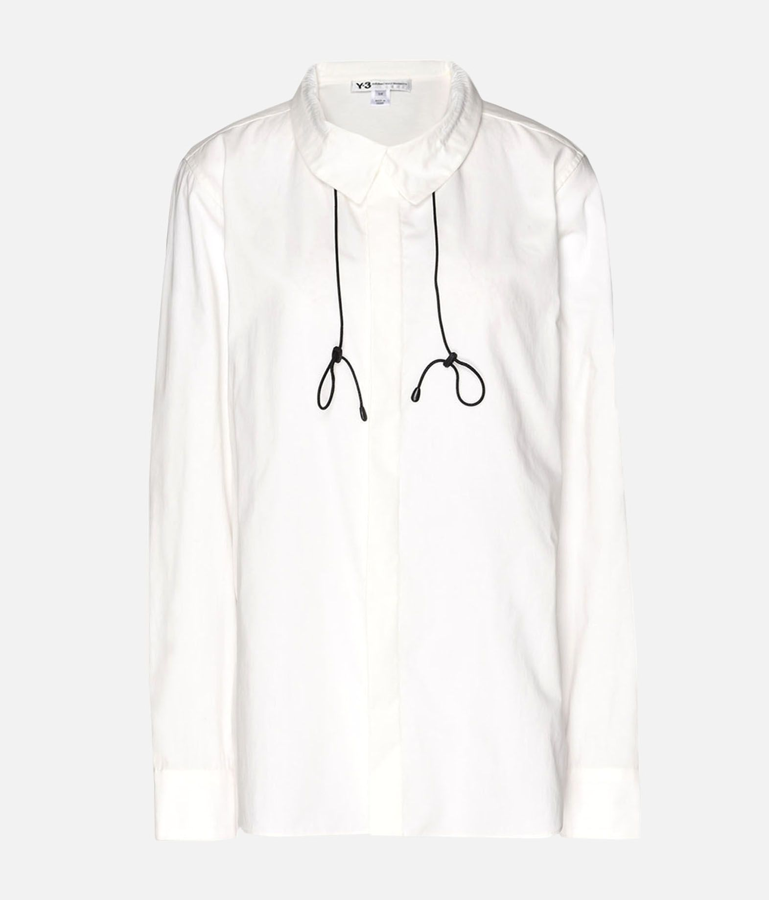 Y-3 Y-3 Tie-Cord Shirt Long sleeve shirt Woman f