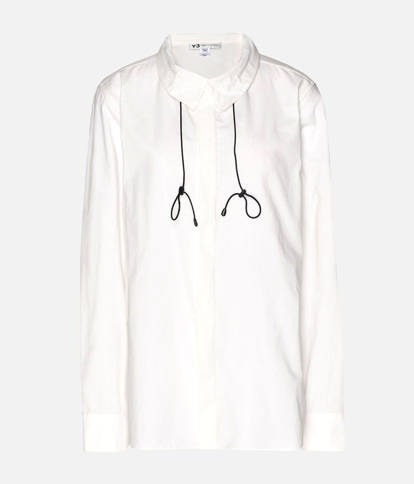 Y-3 Y-3 Tie-Cord Shirt Рубашка с длинными рукавами Для Женщин f