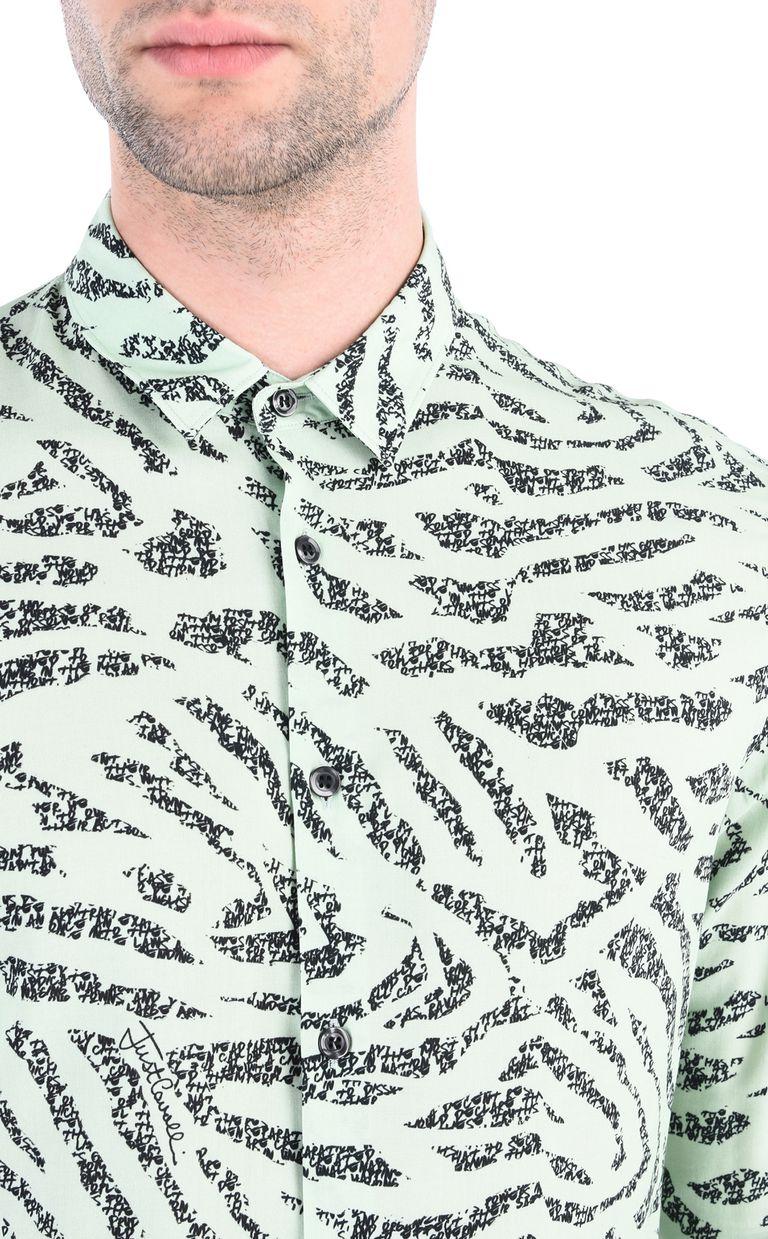 JUST CAVALLI Pundamilia shirt Long sleeve shirt [*** pickupInStoreShippingNotGuaranteed_info ***] e