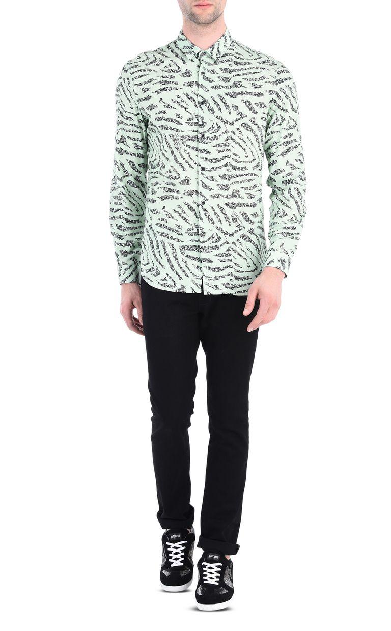JUST CAVALLI Pundamilia shirt Long sleeve shirt [*** pickupInStoreShippingNotGuaranteed_info ***] r