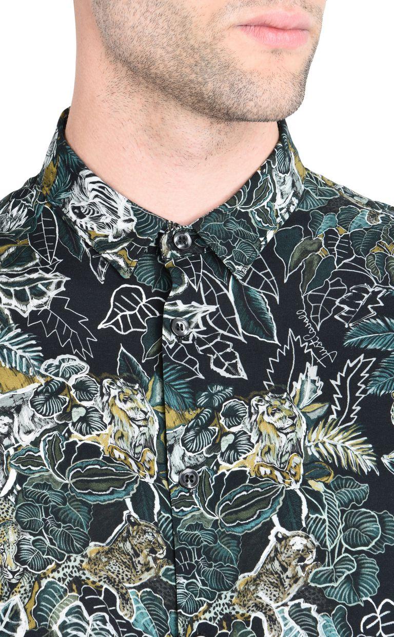 JUST CAVALLI Savanna shirt Long sleeve shirt [*** pickupInStoreShippingNotGuaranteed_info ***] e