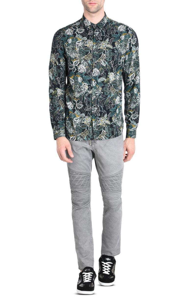 JUST CAVALLI Savanna shirt Long sleeve shirt [*** pickupInStoreShippingNotGuaranteed_info ***] r