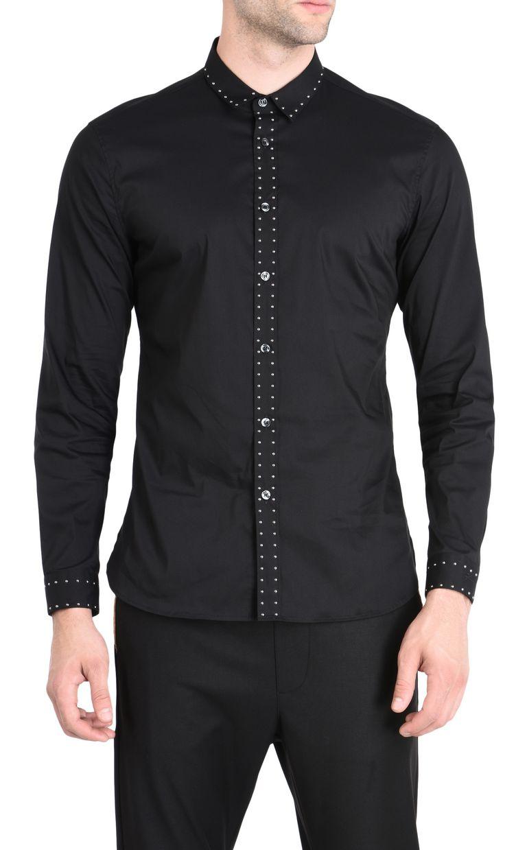 JUST CAVALLI Classic elegant shirt Long sleeve shirt [*** pickupInStoreShippingNotGuaranteed_info ***] f