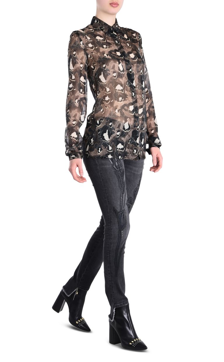 JUST CAVALLI Botswana shirt Long sleeve shirt [*** pickupInStoreShipping_info ***] r