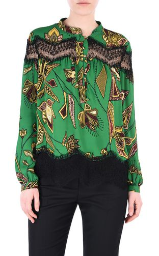 JUST CAVALLI Long sleeve shirt [*** pickupInStoreShipping_info ***] Lurex shirt f