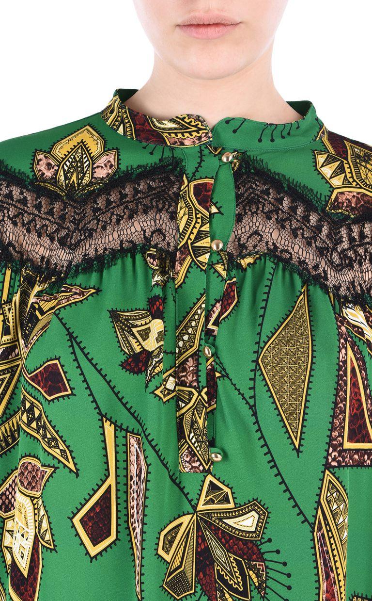 JUST CAVALLI Mozambique shirt Long sleeve shirt [*** pickupInStoreShipping_info ***] e