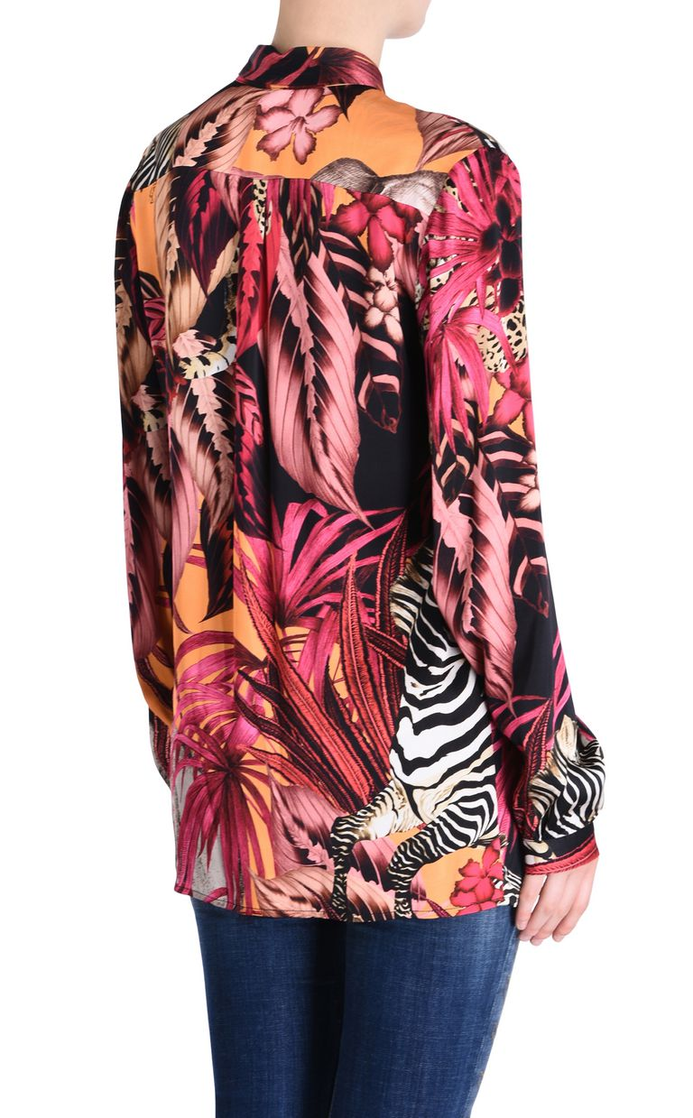 JUST CAVALLI Kenya shirt Long sleeve shirt Woman d