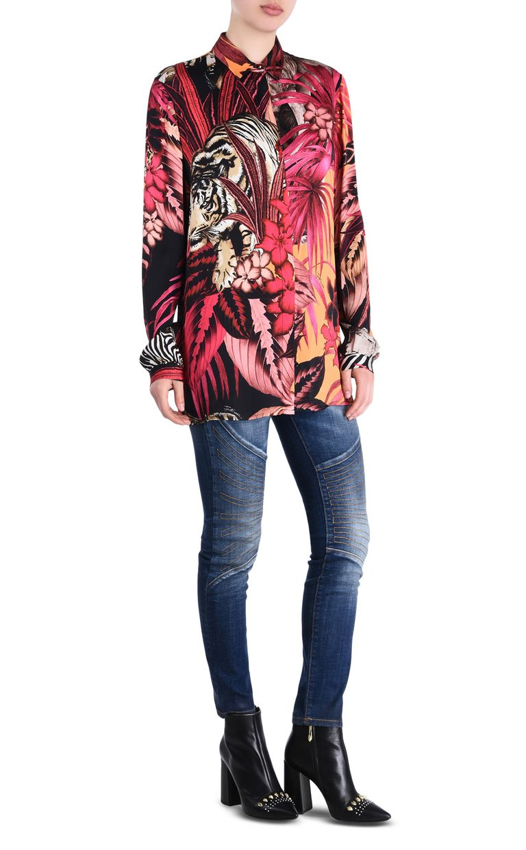JUST CAVALLI Kenya shirt Long sleeve shirt Woman r