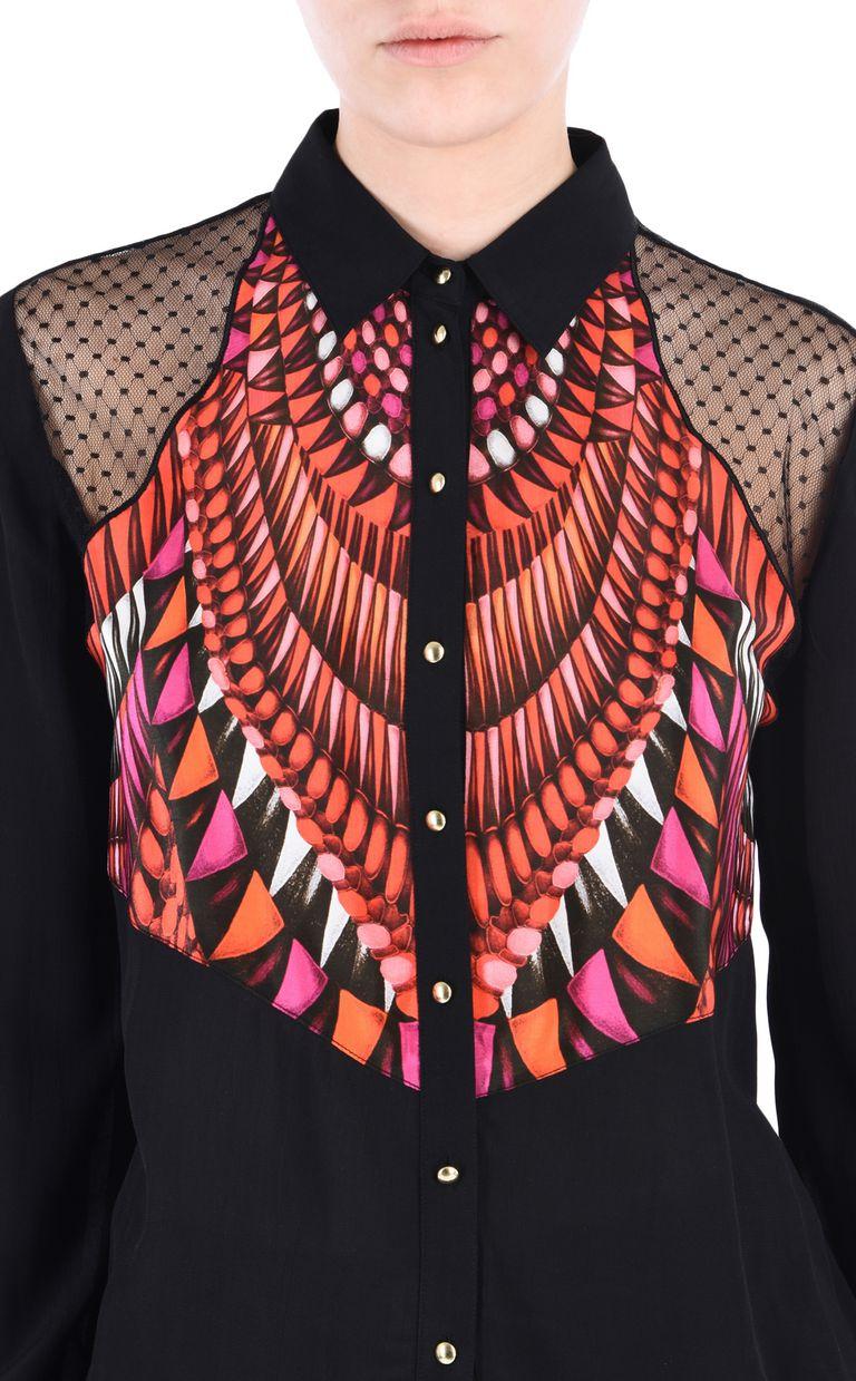 JUST CAVALLI Tanzania shirt Long sleeve shirt [*** pickupInStoreShipping_info ***] e