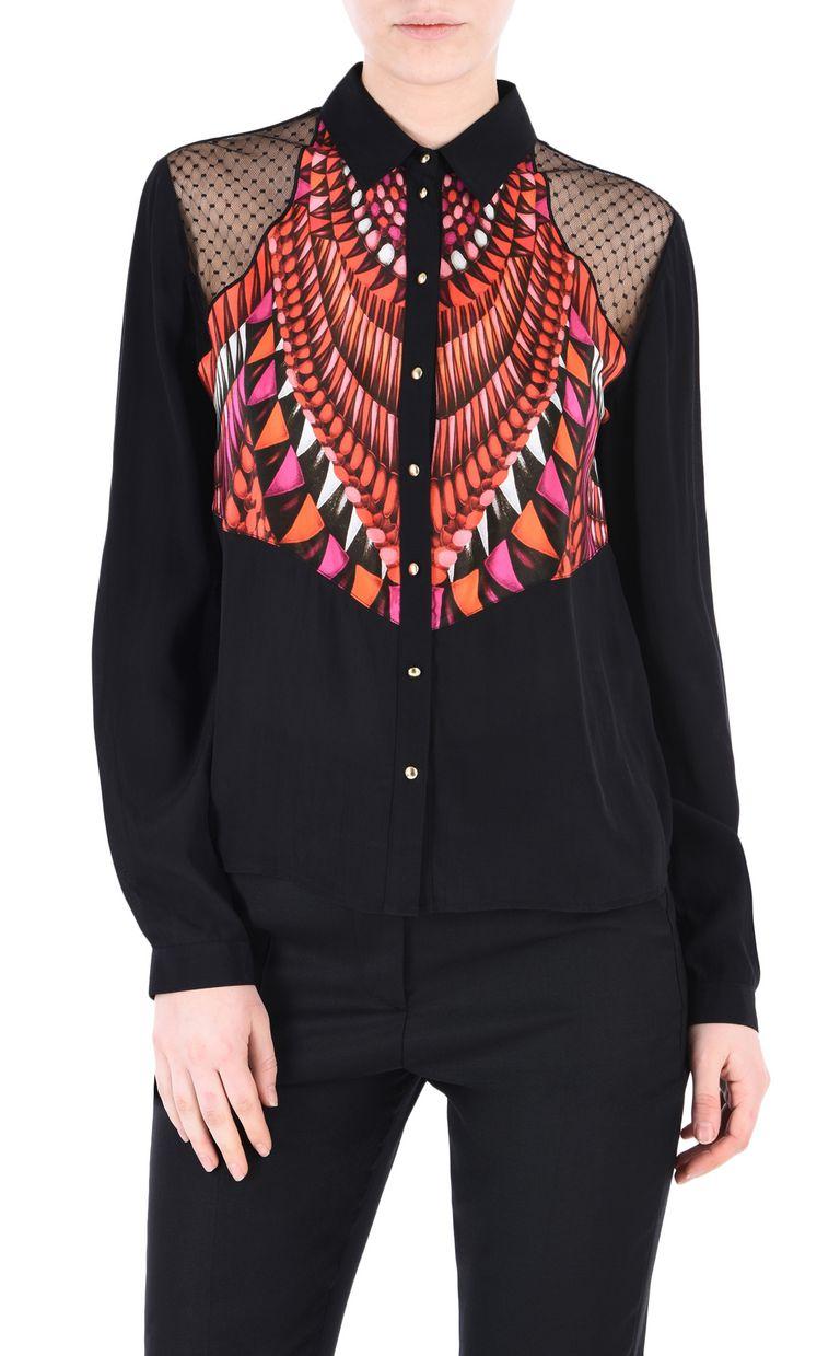 JUST CAVALLI Tanzania shirt Long sleeve shirt Woman f