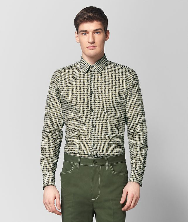 BOTTEGA VENETA MULTICOLOR COTTON SHIRT Shirt Man fp