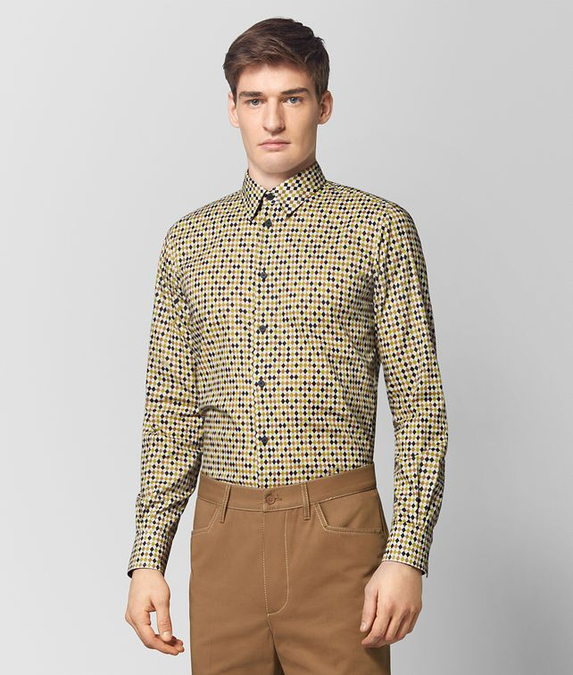 BOTTEGA VENETA MULTICOLOR COTTON SHIRT Shirt [*** pickupInStoreShippingNotGuaranteed_info ***] fp