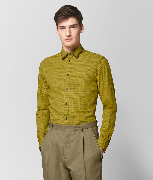 BOTTEGA VENETA CHAMOMILE COTTON SHIRT Shirt [*** pickupInStoreShippingNotGuaranteed_info ***] fp