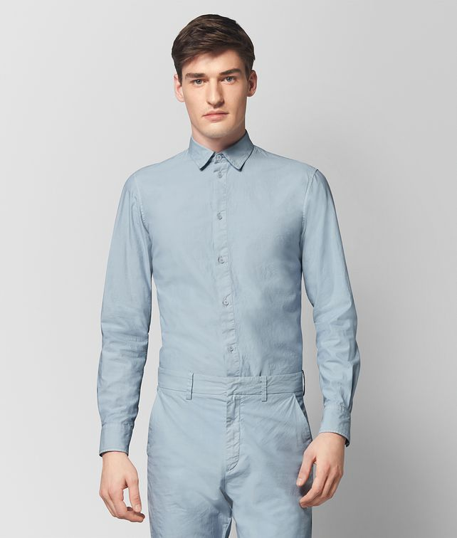 BOTTEGA VENETA ARCTIC COTTON SHIRT Shirt Man fp