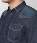BOTTEGA VENETA DARK NAVY DENIM SHIRT Shirt Man ep