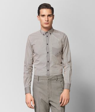 MIST/NERO COTTON SHIRT