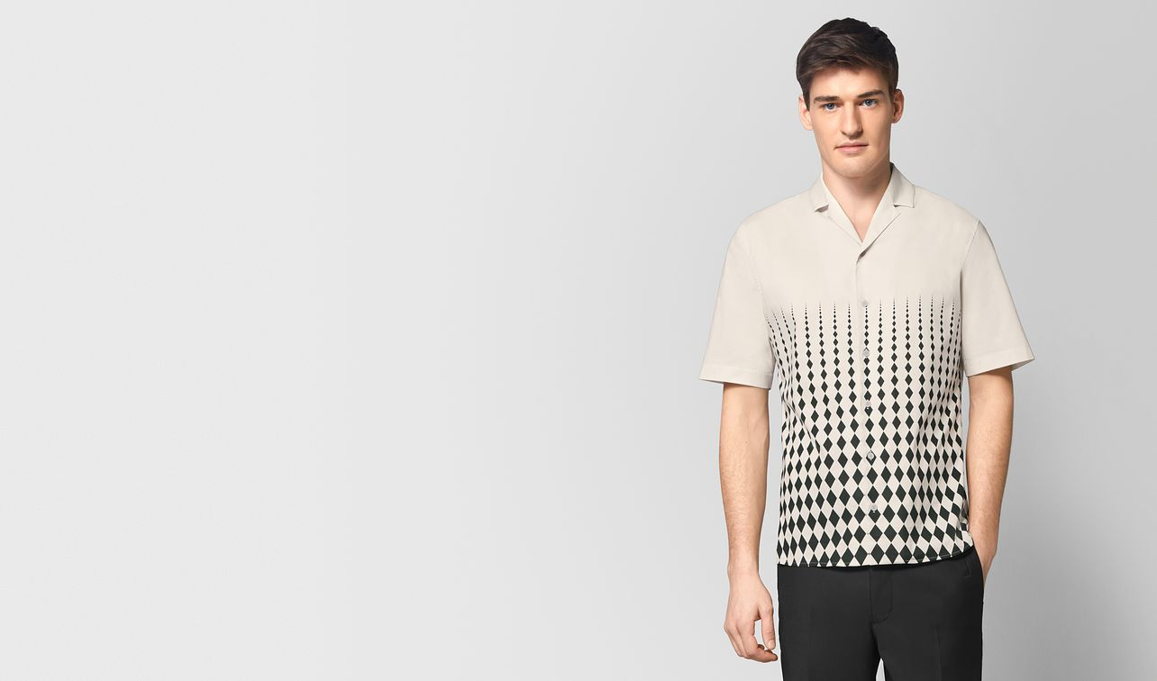 mist/nero cotton shirt landing