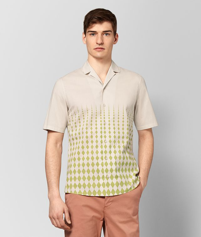 BOTTEGA VENETA MIST COTTON SHIRT Shirt Man fp