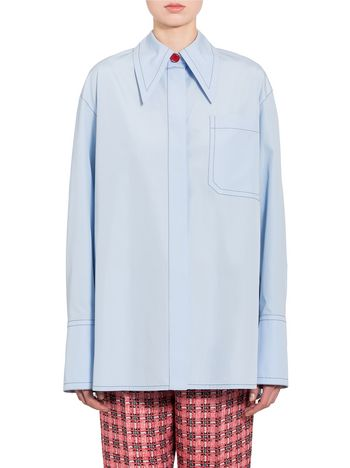 Marni Boxy poplin shirt Woman